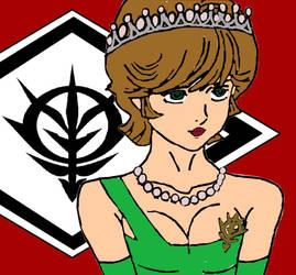 Empress Mineva 0098 UC (Zeonic Victory)  by KingsofWinter