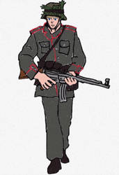 Imperial German Soldier 1941 (Kaiserreich)  by KingsofWinter