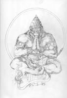 Hanuman Pencils by Blaw81