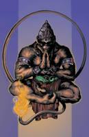 Hanuman Color by Blaw81