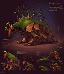 The Forest Giant by JuliaTar
