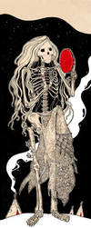The Skeleton woman by JuliaTar
