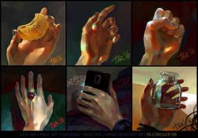 Self art challenge week one by JuliaTar