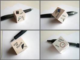 Literal Writer's Block by ldhenson