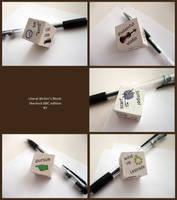 Literal Writer's Block No. 2 by ldhenson