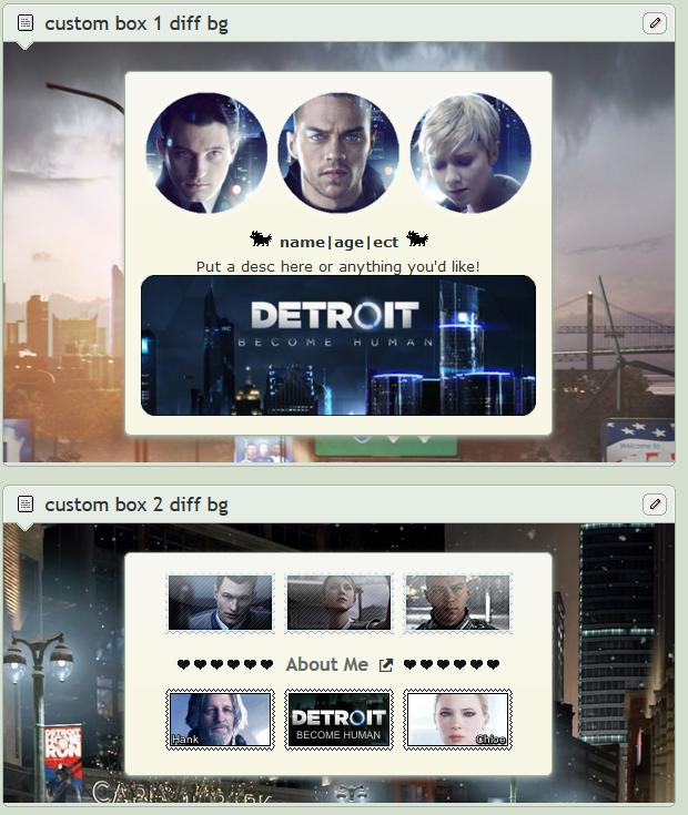 Detroit Become Human Screenie Fr Friend 2 by SpaceMannt