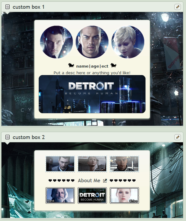 Detroit Become Human Screenie Fr Friend 1 by SpaceMannt