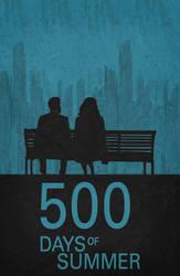500 Days of Summer - Minimalist Poster by miserym