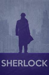 Sherlock - Minimalist Poster by miserym