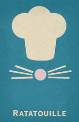 Ratatouille - Minimalist Poster by miserym