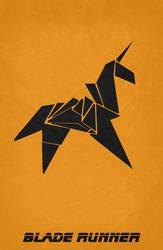 Blade Runner Minimalist Poster by miserym