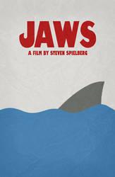 Jaws - Minimal Poster 01 by miserym