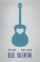 Blue Valentine Minimal Poster 01 by miserym