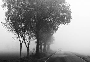 existence in the fog by MarioDellagiovanna