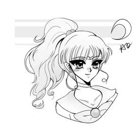 Sailor Jupiter Mako No Mokona by StarsStuff