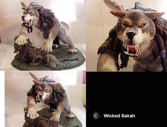 Native American Werewolf by WickedSairah