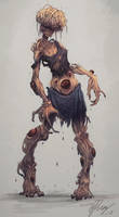 Zombie Creature by reyifx