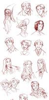 Random HP faces by roby-boh