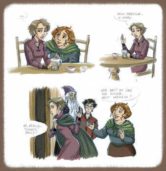 Tonks at the burrow by roby-boh