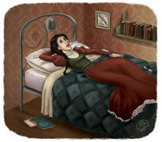 Minerva in troubles_hp by roby-boh