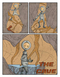 The cave page 1 by MetalSnail