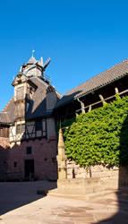 Haut koenigsbourg Castle by drouch