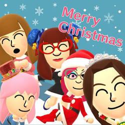 Christmas Miifoto 2017 by Blazikenpwnsyou