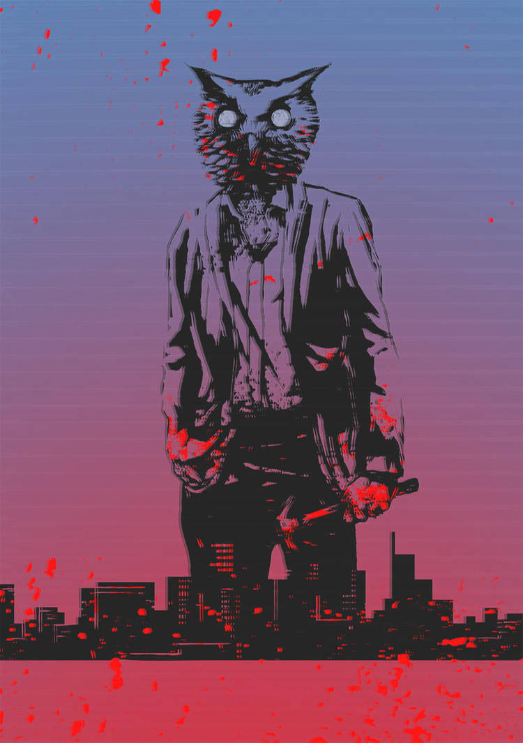 Hotline Miami by B-trndl