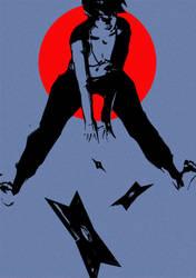 Ninja Girl by B-trndl