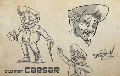 Old Man Caesar by Kira09kj