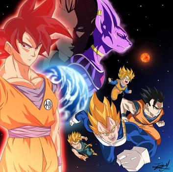 Dragonball Z - Battle of Gods by Kira09kj