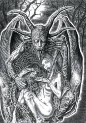 Demonlord by Scytheprayer