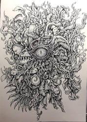 Reptilian Eye by Scytheprayer