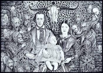 The Haunted Familia by Scytheprayer