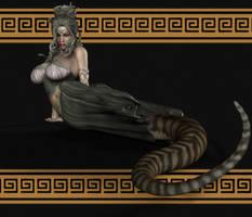 Lamia Gorgon. 00017 by DPAK0N-CAH