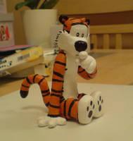 Hobbes Sculpture by shaneandhisdog