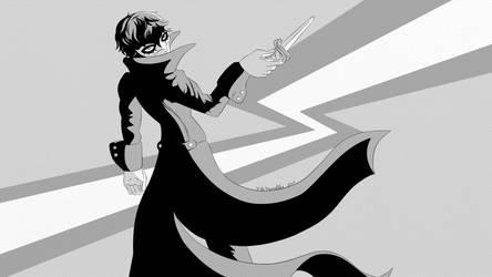 TheTweedler Sketchbook [1] Joker by TheTweedler