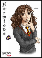 HP Character 3 - Hermione by Tanci
