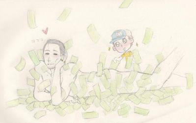 Money Money Money by asdxxx987