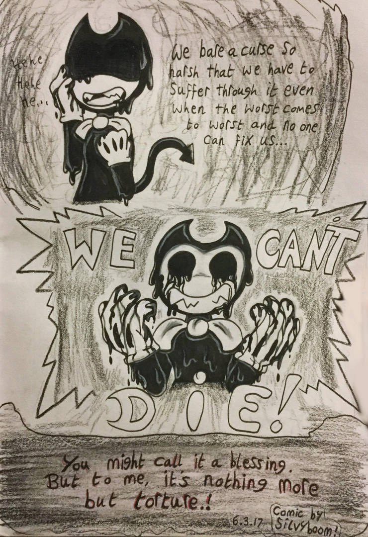 The Cartoon's Curse.. (Page 2-2) by SilvybOOm