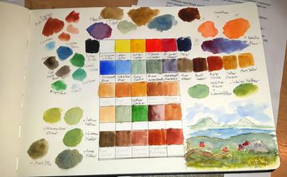 Concept for a Renaissance Color Palette by ExLibrisInterInta