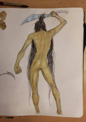 Male Anatomy Study by ExLibrisInterInta