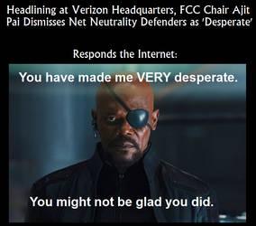 Desperate Net Neutrality by leinglo
