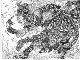 Tlaloc- Rough by DougDougmann