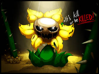 Flowey the Flower by RahkshiChao