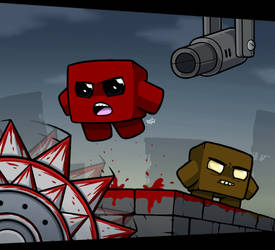 Super Meat Boy by RahkshiChao