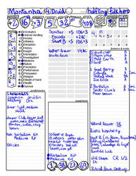 DeD v5 character sheet alternative by mercurion823