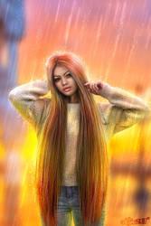 Raining by Nisha2313