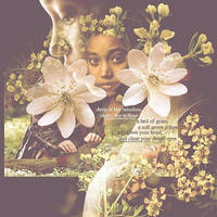 Rue and the Flowers by KatnissRueClove