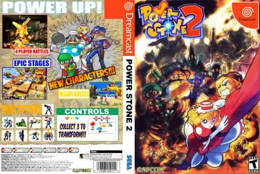 Power Stone 2 Dreamcast DVD Insert by RenOfSwagzareth